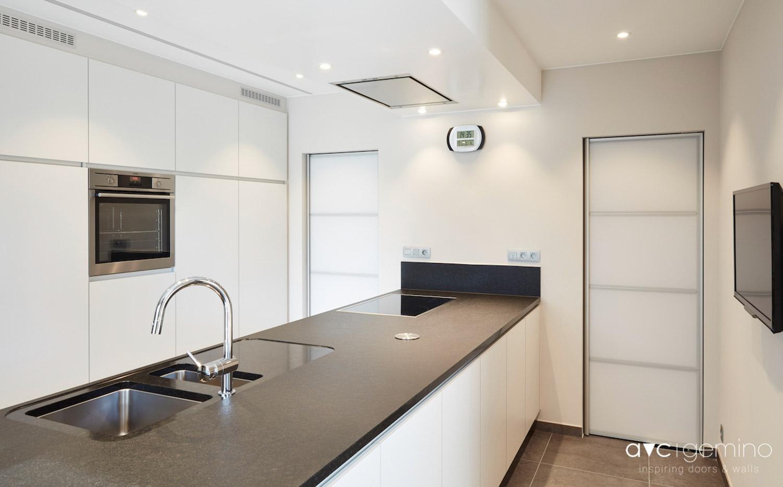 porte pivot monovolume avc gemino. Black Bedroom Furniture Sets. Home Design Ideas
