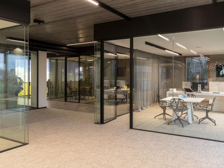 Glazen wand - Glazen deur - kantoren