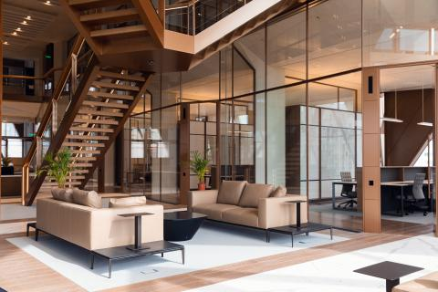 Interior design office spaces