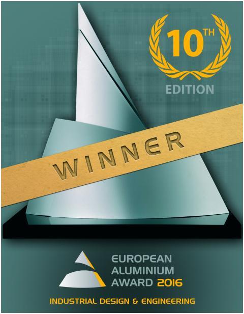 Winner Aluminium Award 2016